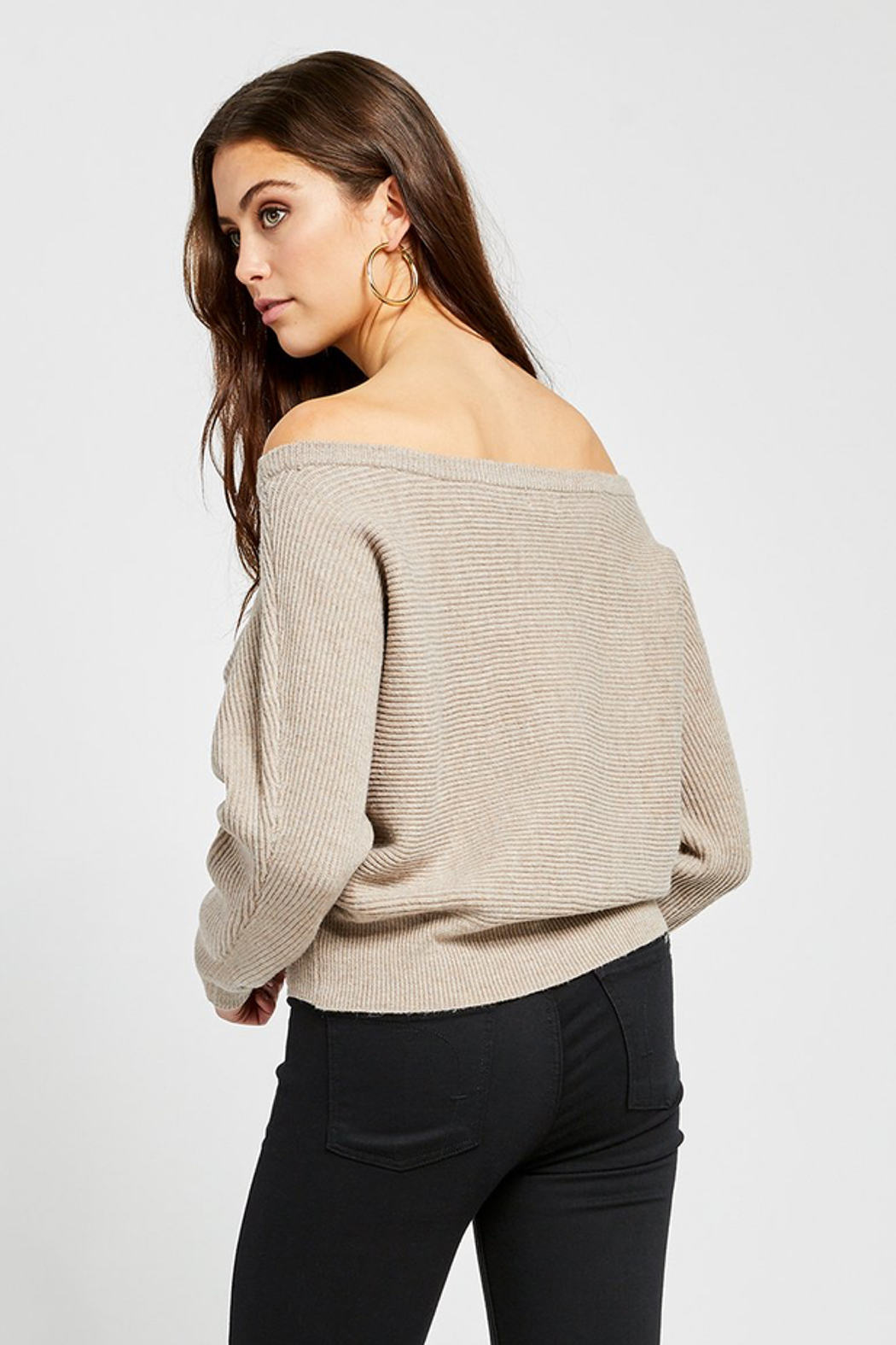 Gentle Fawn Camillo Wide Neck Sweater - Side Cropped Image