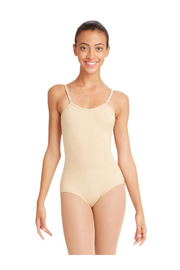 Capezio Camisole Leotard With Adjustable Straps - Front cropped