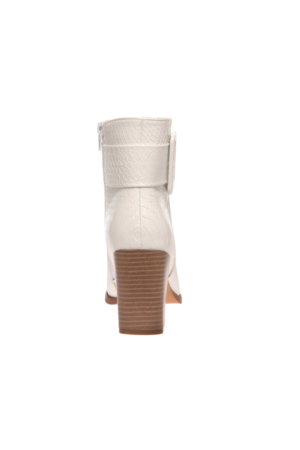 Pierre Dumas Cammy-3 Heeled Bootie - Back Cropped Image