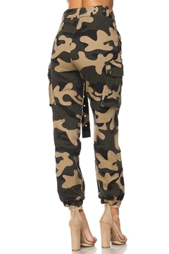 hot and delicious Camo Army Joggers - Alternate List Image
