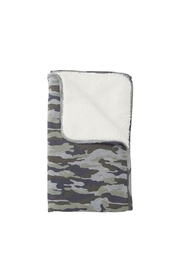 Mud Pie Camo Baby Blanket - Front cropped