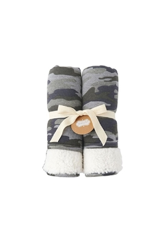 Mud Pie Camo Baby Blanket - Alternate List Image