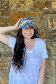 Fashionistar Camo Baseball Hat - Product List Image