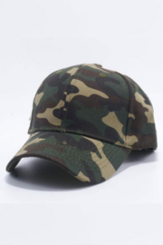 Fashionistar Camo Baseball Hat - Front cropped