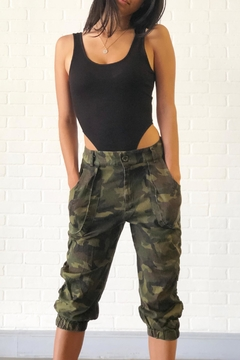 Shoptiques Product: Camo Capri Shorts