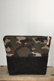 The Lovet Shop Camo Clutch - Product Mini Image