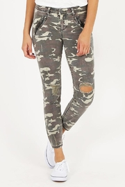 Kut from the Kloth Camo Connie Jean - Product Mini Image