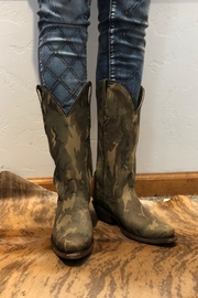 CoFi Camo Cowgirl Boot - Front cropped