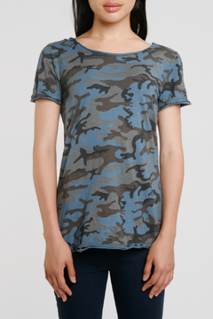 Baci Camo Crew Neck Tee - Product List Image