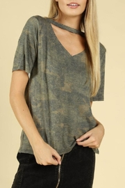 Wild Honey Camo Cutout T-Shirt - Product Mini Image