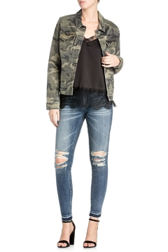 Miss Me Camo Denim Jacket - Product List Image