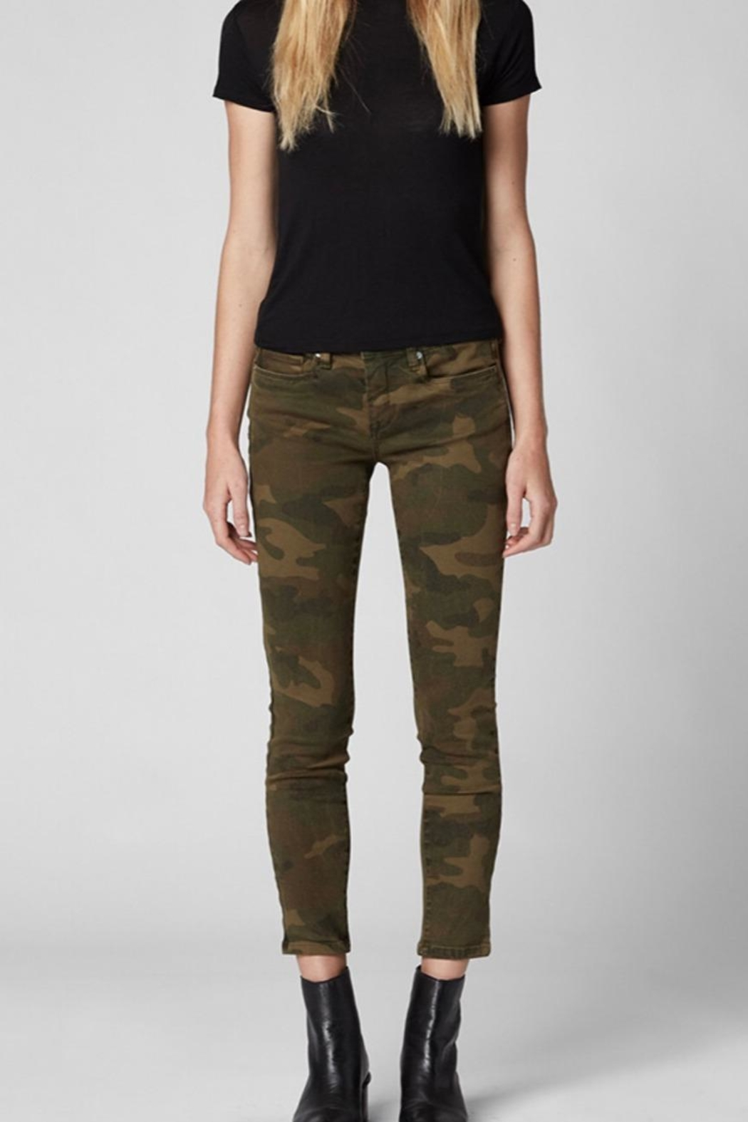 Blank NYC Camo Denim Pants - Main Image