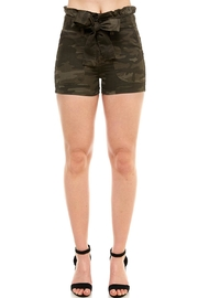 Prestige Camo Denim Shorts - Product Mini Image