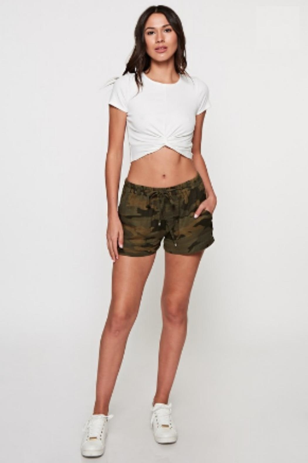 Lovestitch Camo Drawstring Short - Main Image