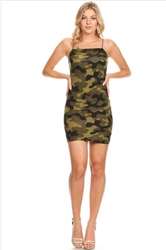 Bear Dance Camo Dress - Product List Image