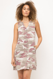 Mystree Camo Dress - Front cropped