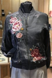 Johnny Was Camo Floral Bomber - Product Mini Image