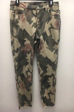 Charlie B Camo Floral Pant - Product List Image