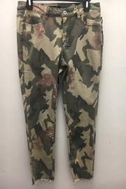 Charlie B Camo Floral Pant - Product Mini Image