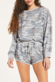 z supply Camo Floral Pullover - Product Mini Image