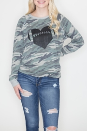 Zutter Camo Football Sweatshirt - Product Mini Image