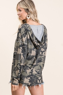 Bibi Camo French Terry Hoodie - Alternate List Image