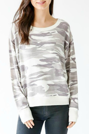 Six Fifty Camo Hacci Dolman Sleeve Sweater - Product Mini Image