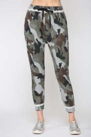 Fate  Camo Harem Pants - Front cropped
