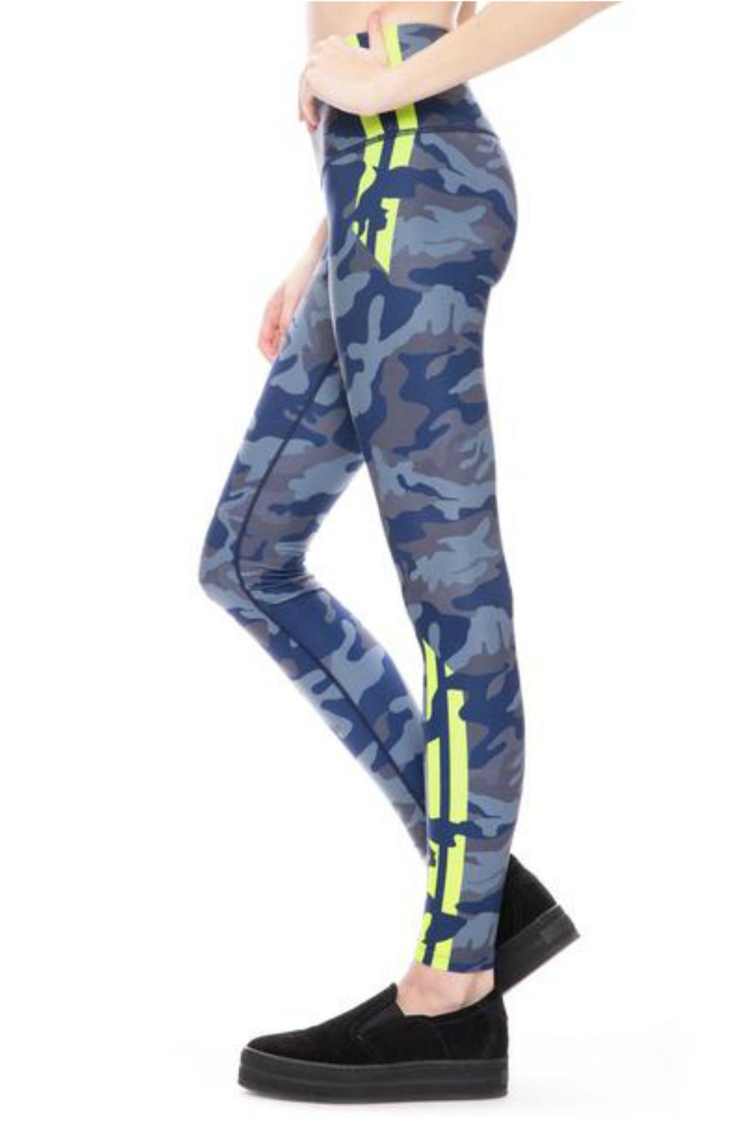 W.I.T.H.-Wear It To Heart Camo High Waist - Front Cropped Image