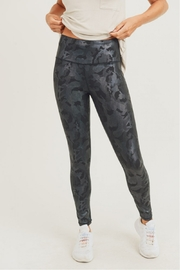 Mono B Camo Holographic Foil Hi waist Leggings - Product Mini Image