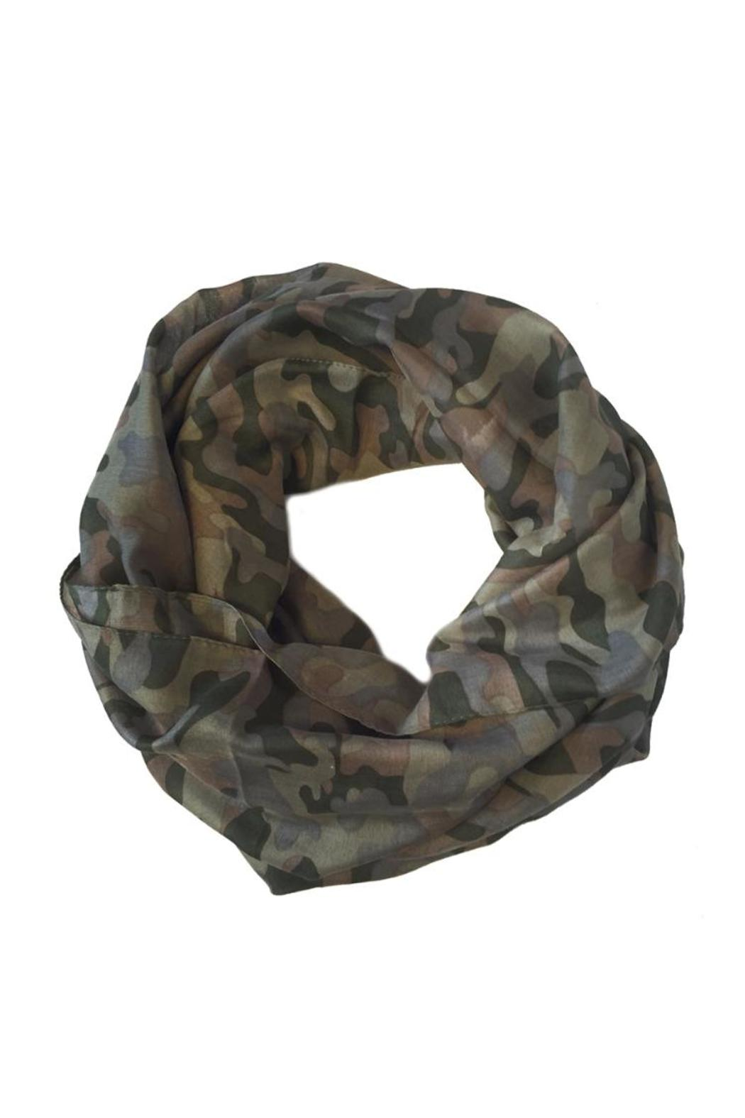 Camo Infinity Scarf From Las Vegas By Glam Squad Shop