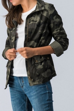 Trend:notes Camo Jacket - Product List Image
