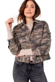 Liverpool  Camo jacket with patch pockets - Product Mini Image