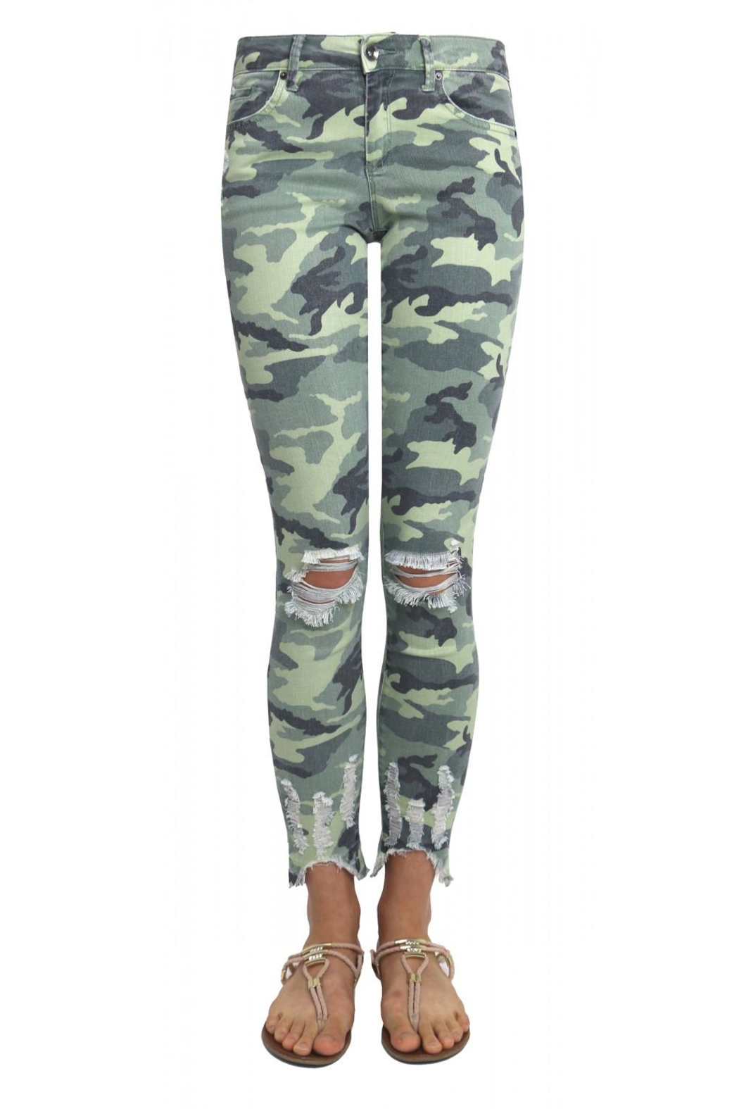 Tractr Camo Jeans - Main Image