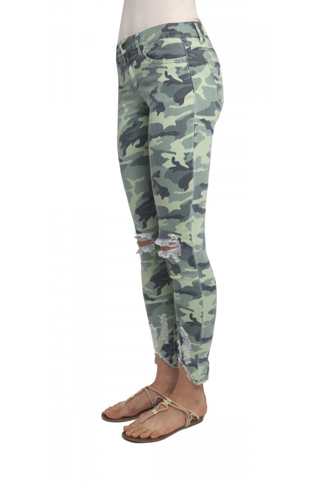 Tractr Camo Jeans - Front Full Image