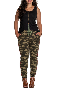 Shoptiques Product: Camo Jogger w Contrast Piping