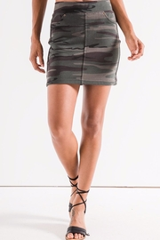 z supply Camo Knit Skirt - Front cropped