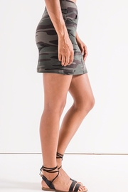 z supply Camo Knit Skirt - Front full body