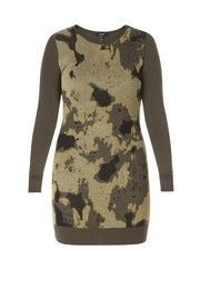 Yest Camo Knit Tunic - Product Mini Image