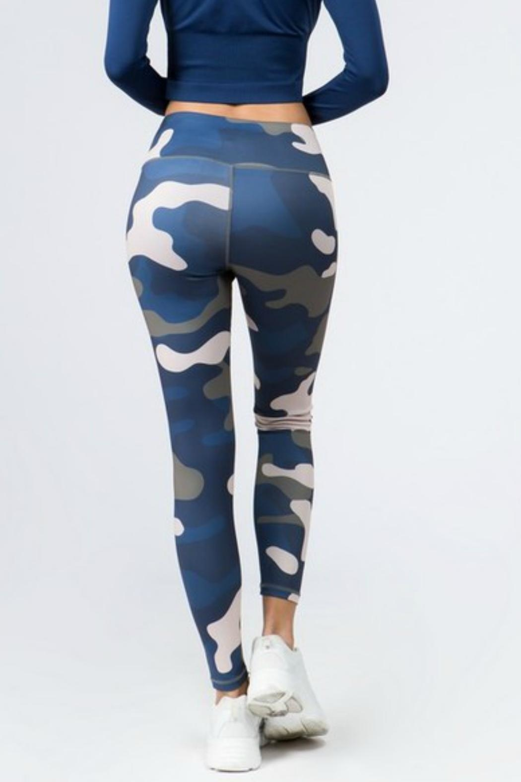 Imagine That Camo Leggings - Front Full Image