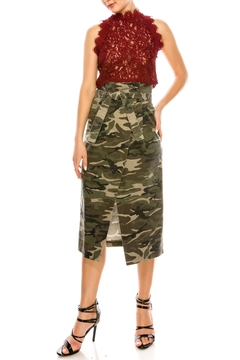 Shoptiques Product: Camo Long Skirt