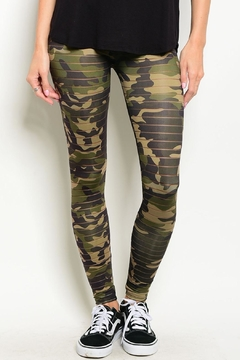 Nylon Apparel Camo Mesh Leggings - Product List Image
