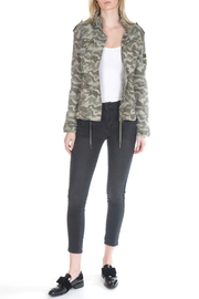 Bianco Jeans Camo Military Jacket w Patches - Product Mini Image