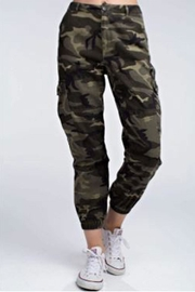 Wild Honey Camo Military Pants - Product Mini Image