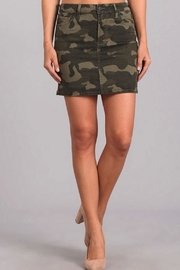 Celebrity Pink  Camo Mini Skirt - Product Mini Image