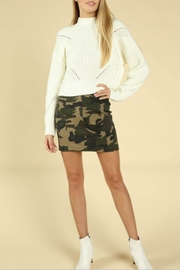 Wild Honey Camo Mini Skirt - Product Mini Image
