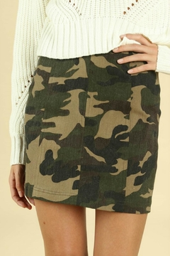 Shoptiques Product: Camo Mini Skirt