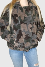 Dylan by True Grit Camo Moto Jacket - Product Mini Image