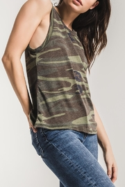 z supply Camo Muscle Tank - Back cropped