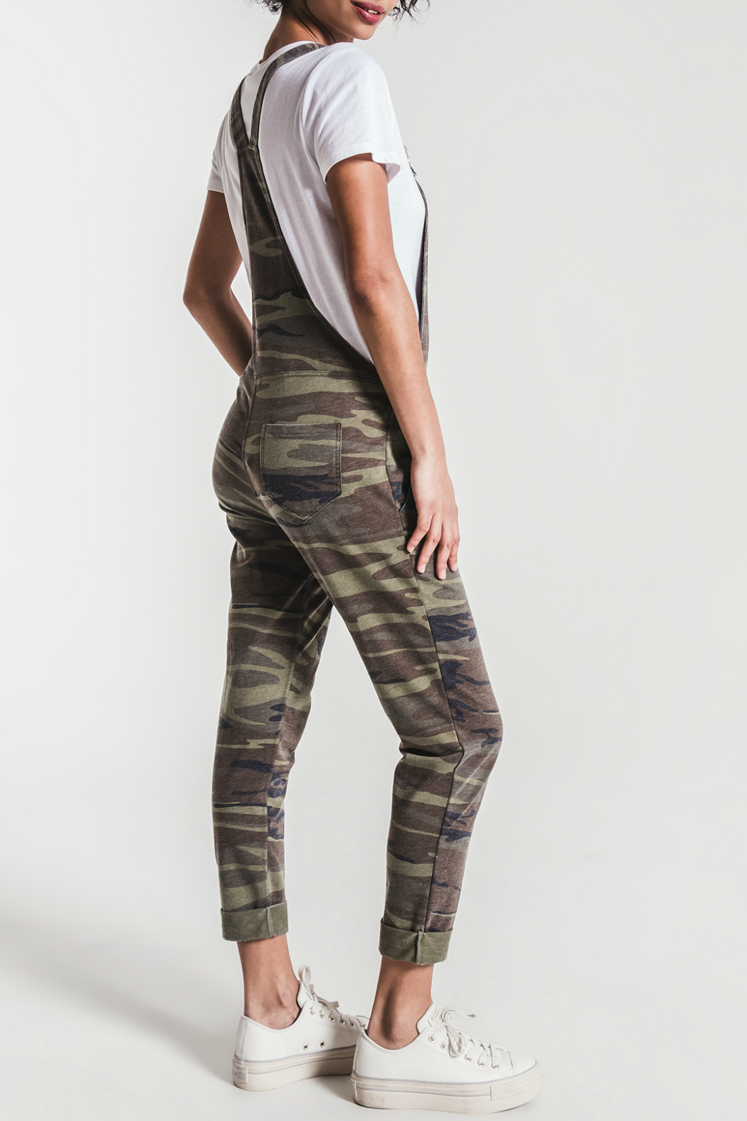 z supply Camo Overalls - Side Cropped Image
